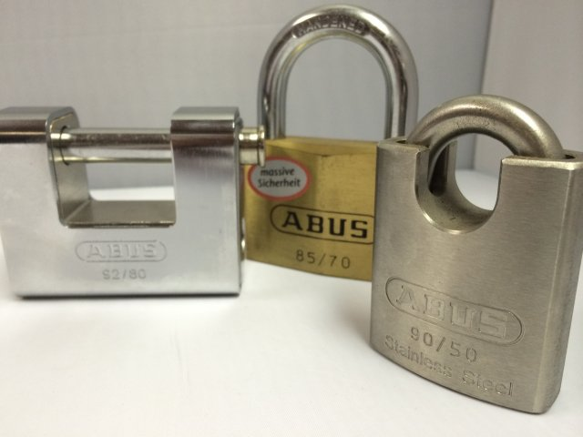 ABUS Security Padlocks (Closed Shackle, Monoblock and Open Shackle)